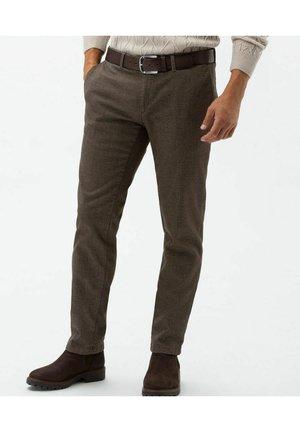 FELIX C - Trousers - nougat