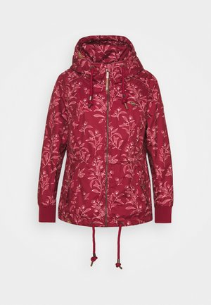 DANKA LEAVES - Short coat - wine red