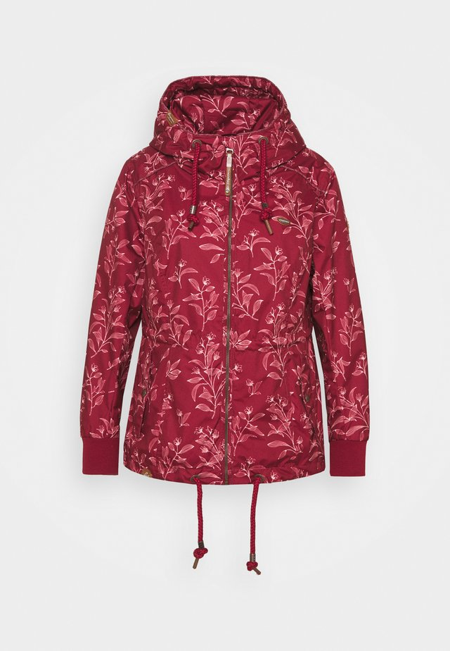 DANKA LEAVES - Manteau court - wine red