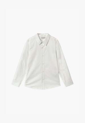 NKMFRED SLIM NOOS - Shirt - bright white
