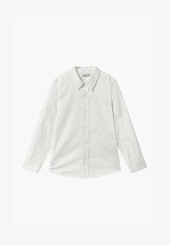 NKMFRED SLIM NOOS - Shirt - bright white