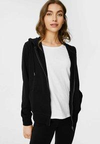 C&A - Zip-up sweatshirt - black - 0