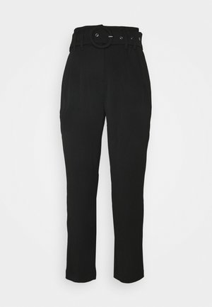 YASRUSTICA ANKLE PANT - Kalhoty - black