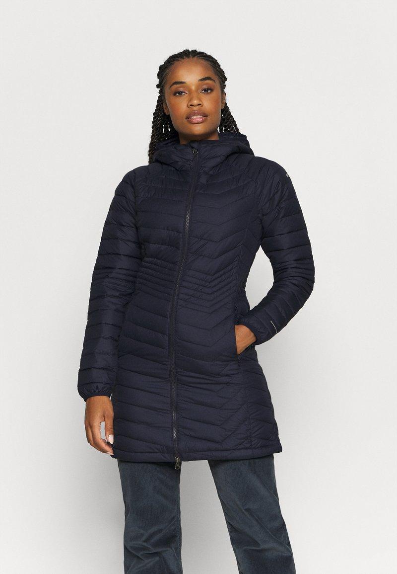 Columbia - POWDER LITE MID JACKET - Winter coat - dark nocturnal