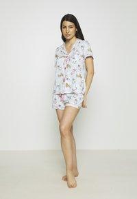 PJ Salvage - SET - Pyjamas - sky - 1