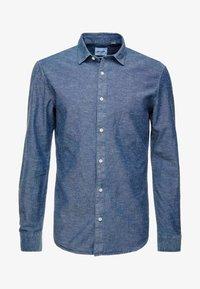 Only & Sons - ONSTED SLUB CHAMBRAY  - Skjorta - dark blue denim - 3