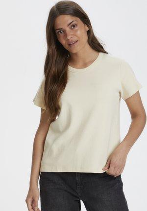Basic T-shirt - whitecap gray