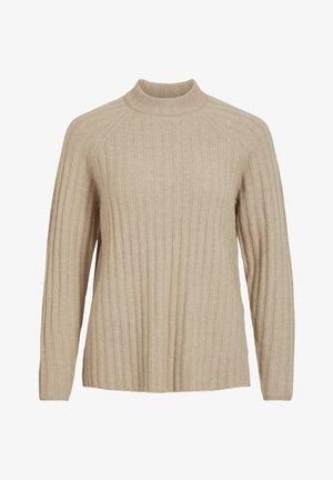 VINIKKI - Sweter - natural melange/melange