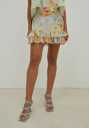 MALIAH - Pleated skirt - mischfarben