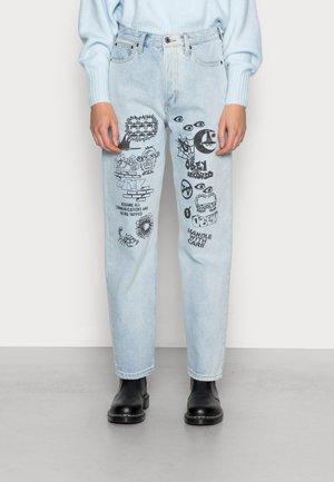 SOPHIE PANTS - Straight leg jeans - vintage light indigo