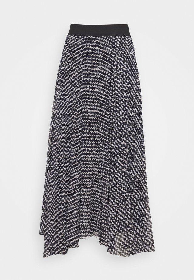 NATASHA LOVELY SKIRT - Maxi skirt - black
