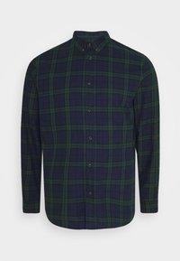 Shirt - dark blue/green