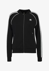 adidas Originals - ADICOLOR 3 STRIPES BOMBER TRACK JACKET - Training jacket - black - 4