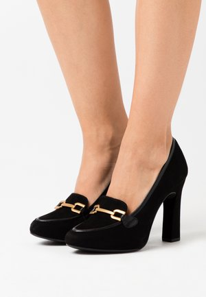 PIERO - Zapatos altos - black