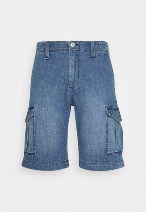 JJICHARLIE - Jeansshort - blue denim