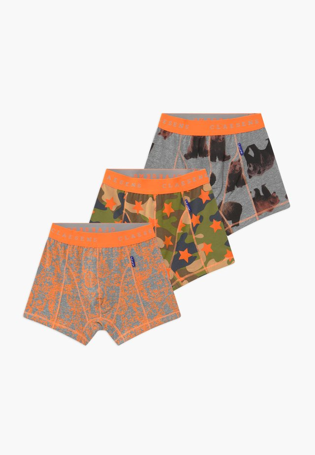 BOYS BOXER  3 PACK - Panties - brown