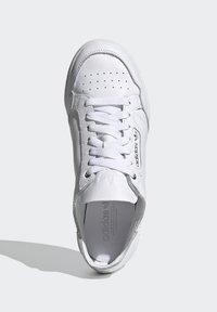 adidas Originals - CONTINENTAL 80 RECON  - Matalavartiset tennarit - footwear white/silver metallic - 1