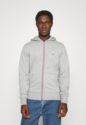 CORE C ZIP HOODIE - veste en sweat zippée - grey