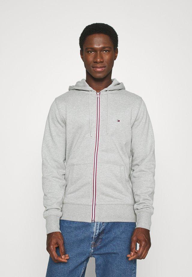 CORE C ZIP HOODIE - veste en sweat zippée - grey