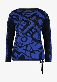Betty Barclay - MIT JACQUARD - Jumper - blue/ dark-blue - 3