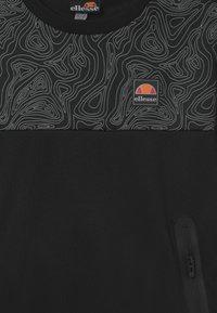 Ellesse - NORITIO UNISEX - Long sleeved top - black - 2