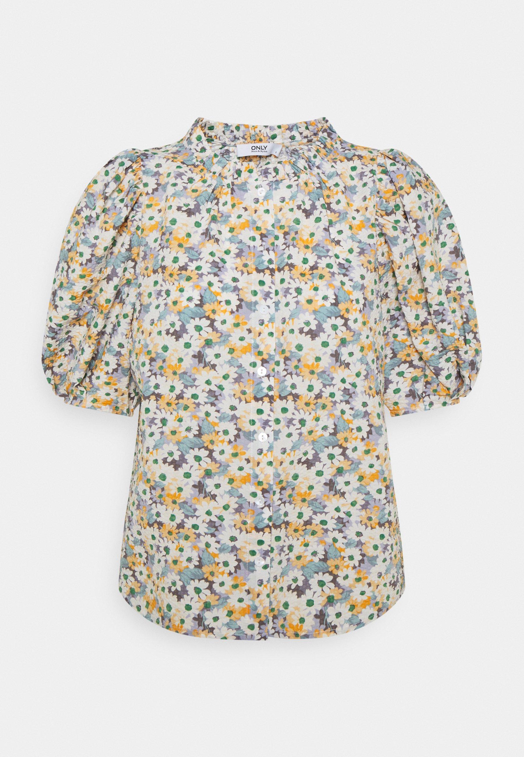 Women ONLTAMMIE FLOWER - Print T-shirt