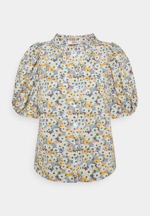 ONLTAMMIE FLOWER - T-shirt med print - white