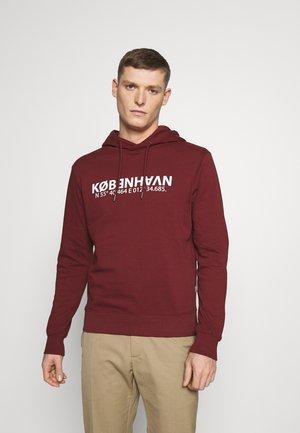 MARU - Sweatshirt - wine red