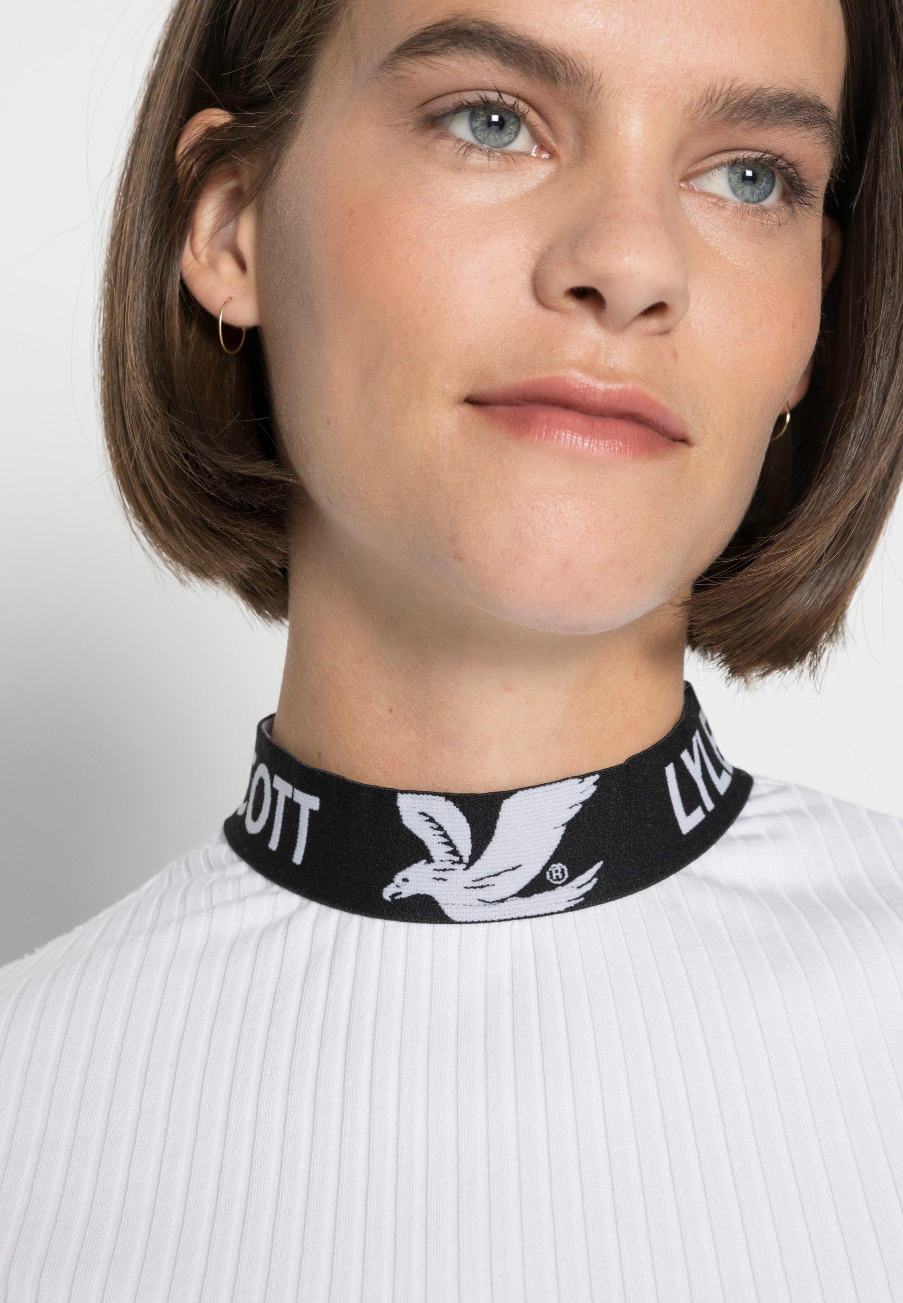 Women BRANDED COLLAR - Basic T-shirt