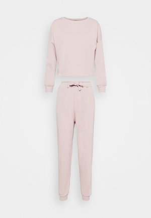 Basic lounge set - Pyjama set - rose