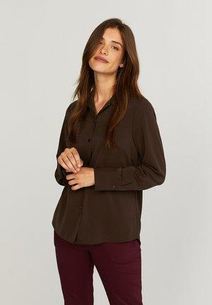 CARLA  - Button-down blouse - molé