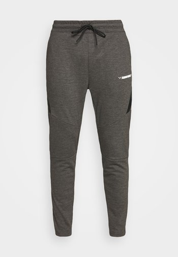 WARRIOR JOGGERS - Tracksuit bottoms - grey