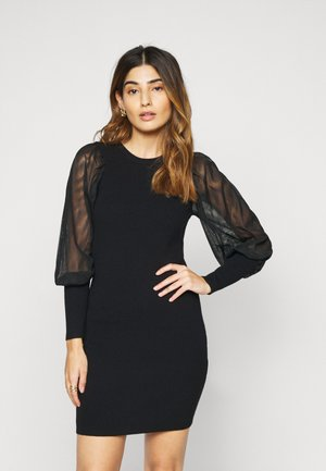 ONLEYLENE DRESS  - Vestido de punto - black