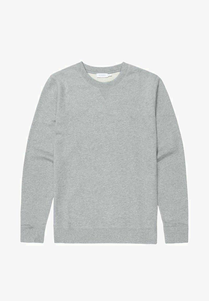 Sunspel - LOOPBACK - Sweatshirt - grey melange