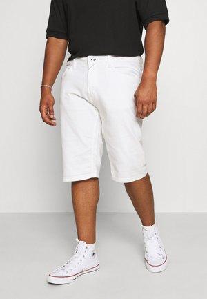 KEN PLUS - Denim shorts - offwhite