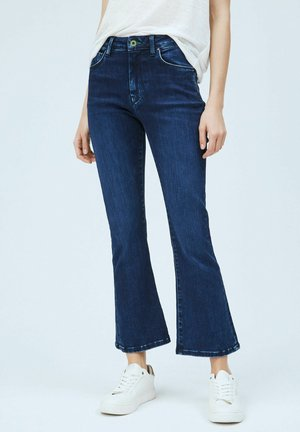 KICK - Flared Jeans - denim