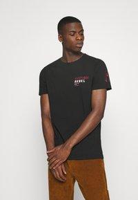 Redefined Rebel - BEAST TEE - Print T-shirt - black - 2