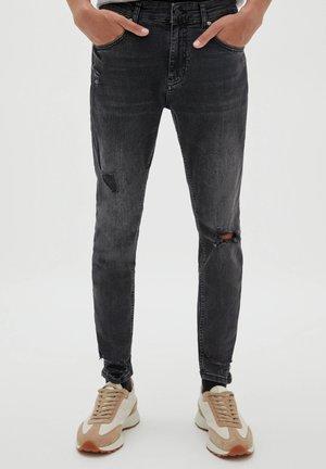 Jeans Skinny Fit - mottled dark grey