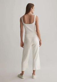 OYSHO - Kalhoty - white - 2