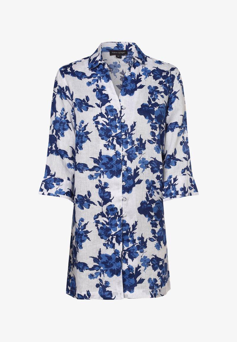 Franco Callegari - Button-down blouse - blau