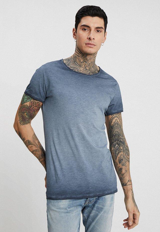 VITO SLUB - T-shirt print - navy blue