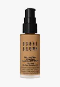 Bobbi Brown - MINI SKIN LONG-WEAR WEIGHTLESS FOUNDATION - Foundation - neutral walnut - 0