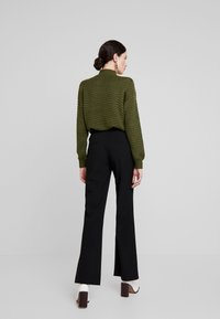YAS - YASVICCY WIDE PANT - Trousers - black - 3