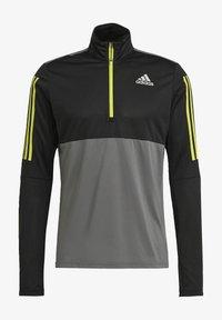 adidas Performance - OWN THE 1/2 RESPONSE PRIMEGREEN RUNNING PULLOVER SWEATSHIRT - Sweatshirt - grey - 6