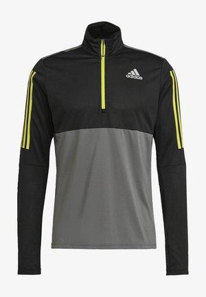 OWN THE 1/2 RESPONSE PRIMEGREEN RUNNING PULLOVER SWEATSHIRT - Sweatshirt - grey