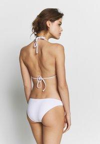 ONLY - ONLNITAN BRIEF 2 PACK - Bikini bottoms - black/bright white - 2