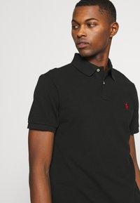 Polo Ralph Lauren - SLIM FIT MESH POLO SHIRT - Polo shirt - black - 3