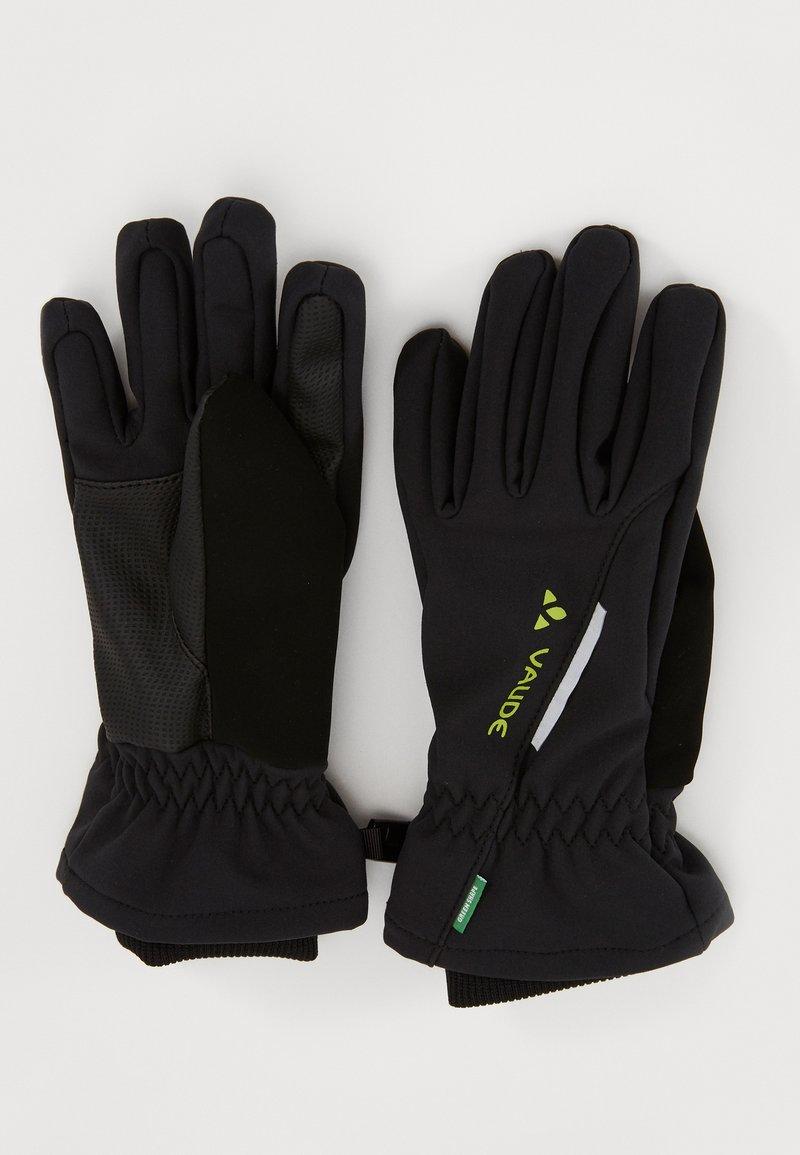 Vaude - KIDS GLOVES - Fingerhandschuh - black
