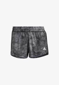 adidas Performance - PACER WOVEN FLORAL SHORTS - Pantaloncini sportivi - black - 5