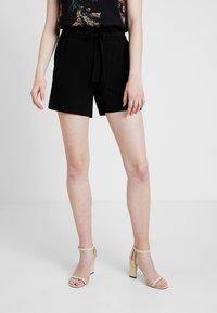 ONLY - ONLTURNER PAPER BAG  - Shorts - black - 0